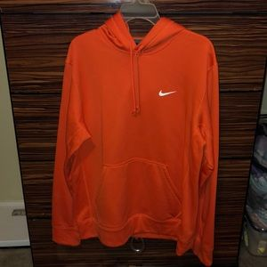 Nike Other - orange nike pull over